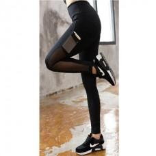 ส่งฟรี  กางเกงออกกำลังกาย Mesh Stripe No. 2 (สีดำ) - มีให้เลือก 2 ไซส์ S และ M
