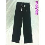 กางเกง แบรนด์ Decathlon สีดำ ใส่เล่นโยคะ ฟิตเนส กีฬา