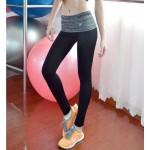 กางเกงออกกำลังกาย ขายาว Quick Dry Fitness Pants สีดำ (2 แบบให้เลือก)