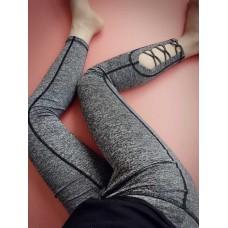 กางเกงออกกำลังกาย  X-Design Quick Dry Fitness Pants สีเทา (มี 3ไซส์ให้เลือก S M L)